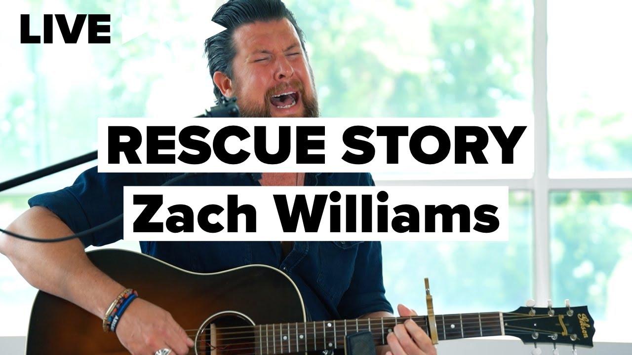 """Zach Williams """"Rescue Story"""" LIVE"""