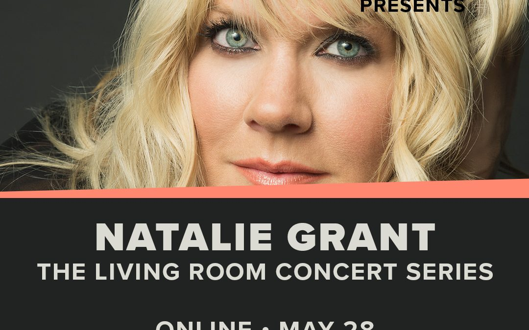 Hope On Demand presents the Living Room Concert Series with Natalie Grant