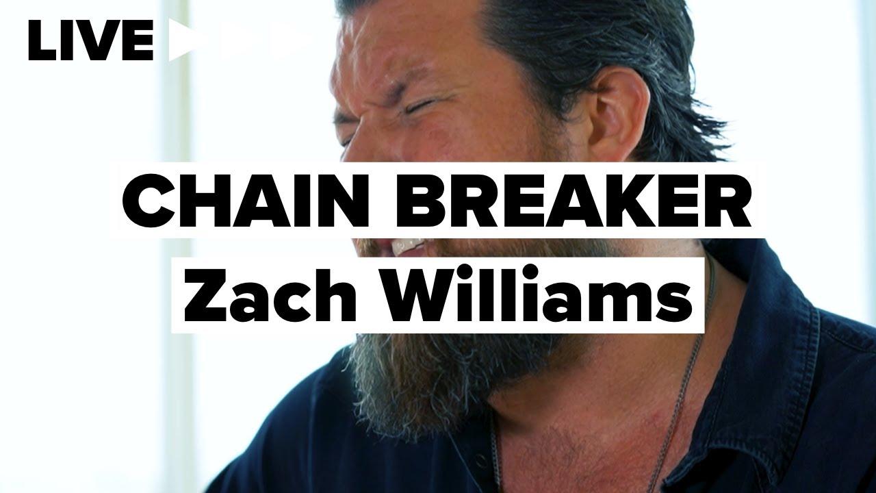 """Zach Williams """"Chain Breaker"""" LIVE"""