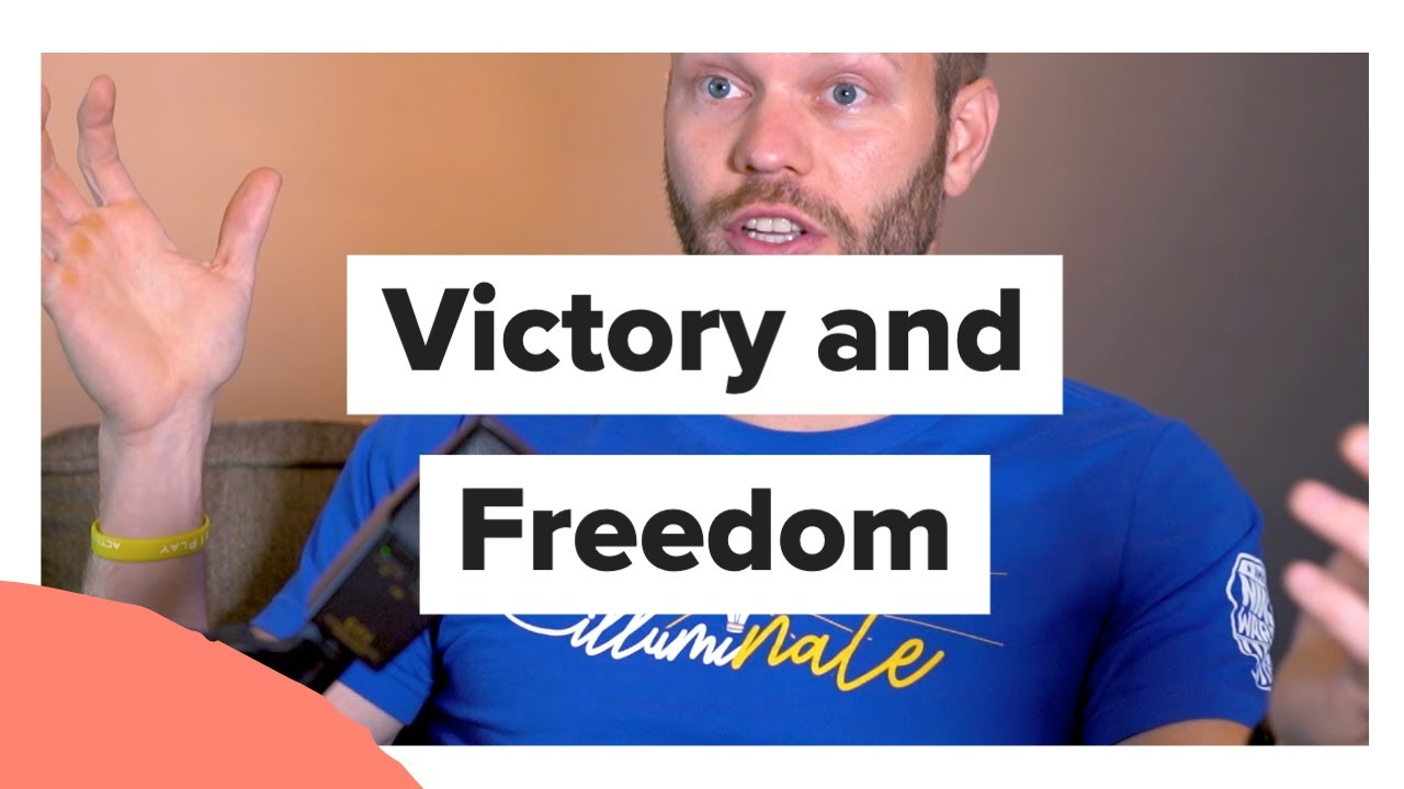 Victory and Freedom with Nate Burkhalter from American Ninja Warrior