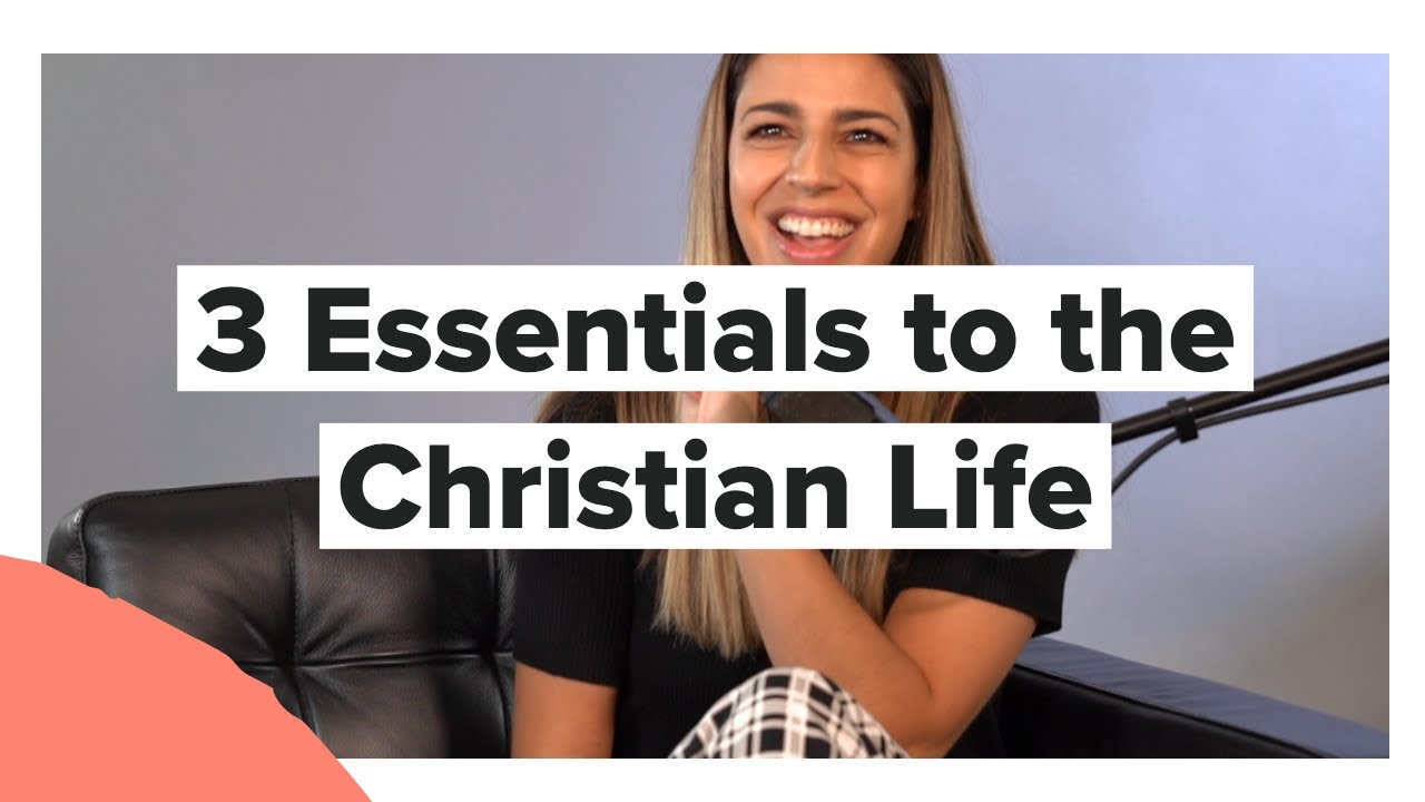 3 Essentials to the Christian Life with Brooke Ligertwood from Hillsong Worship