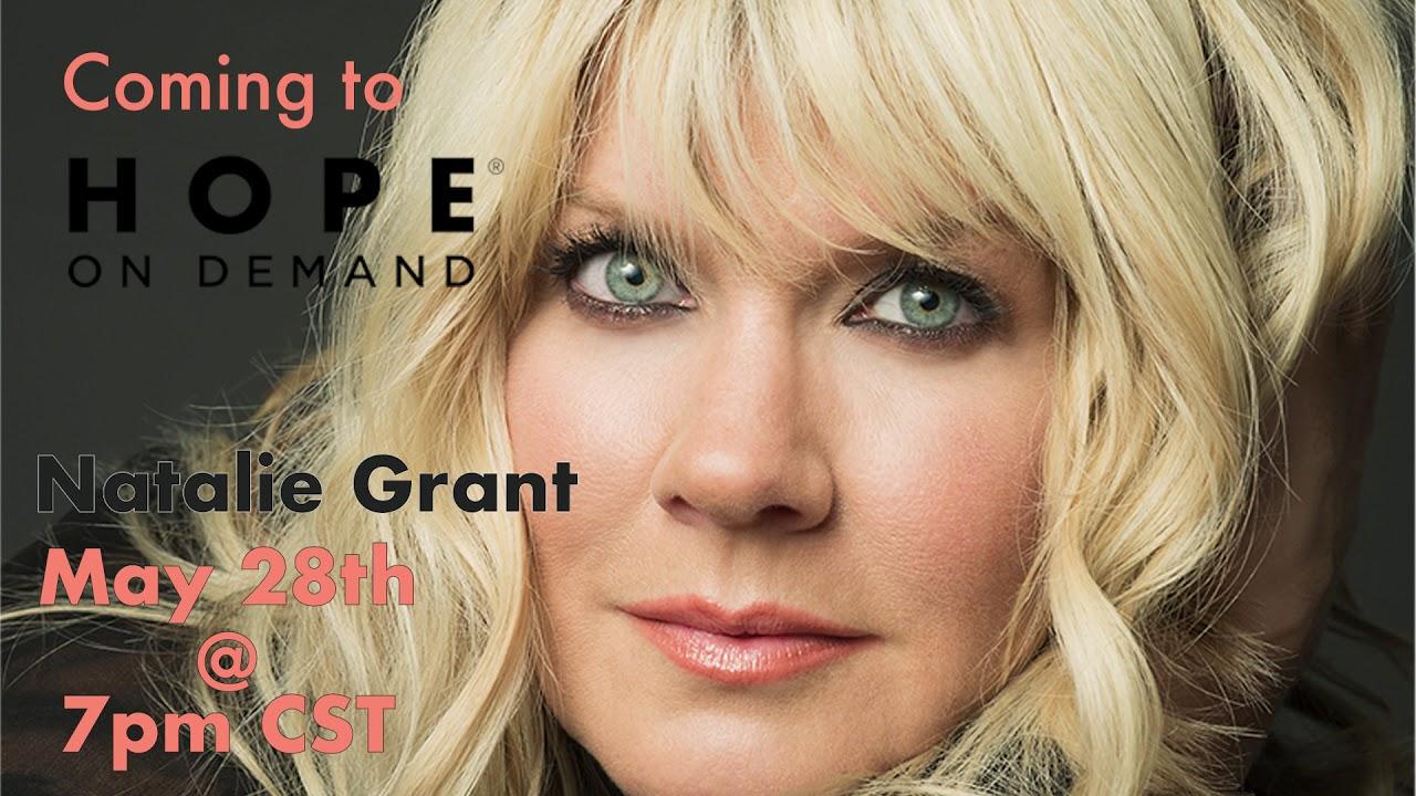 Natalie Grant May 28 7PM