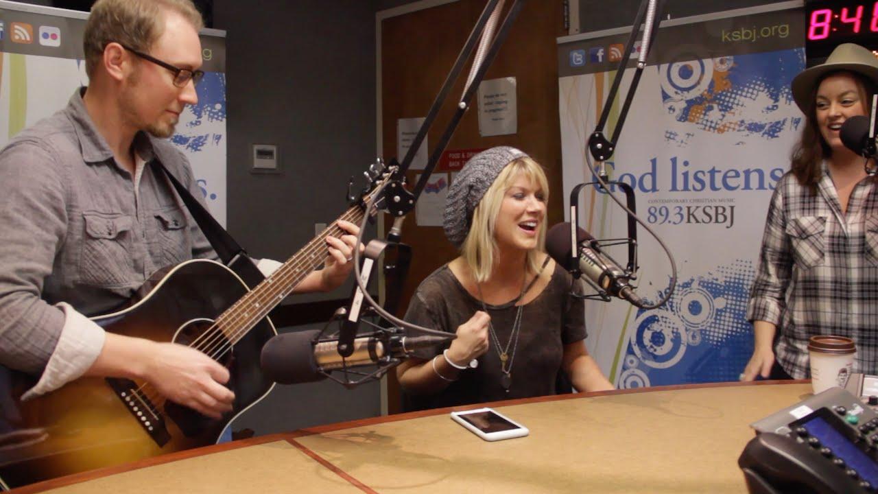 """Natalie Grant """"Good Day"""" LIVE at KSBJ Radio"""