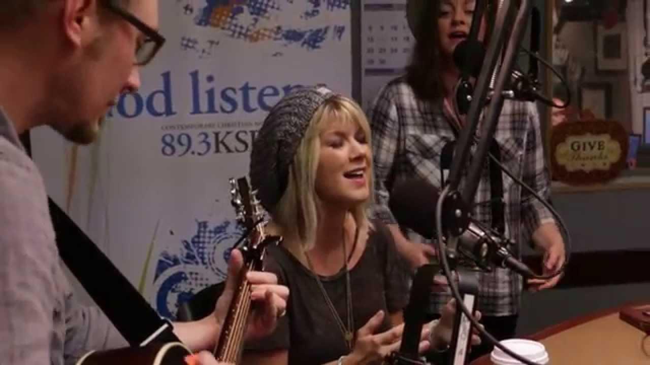 "Natalie Grant ""King of the World"" LIVE at KSBJ Radio"