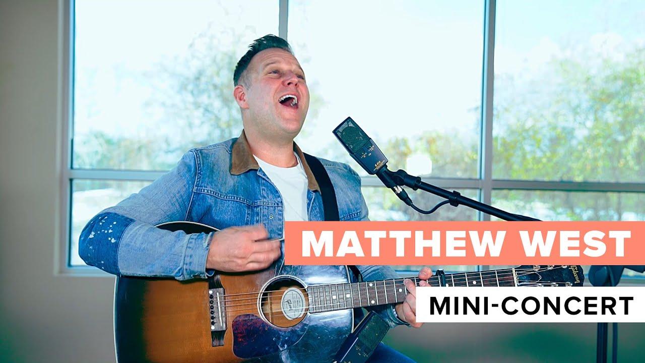 Matthew West – Exclusive Mini Concert