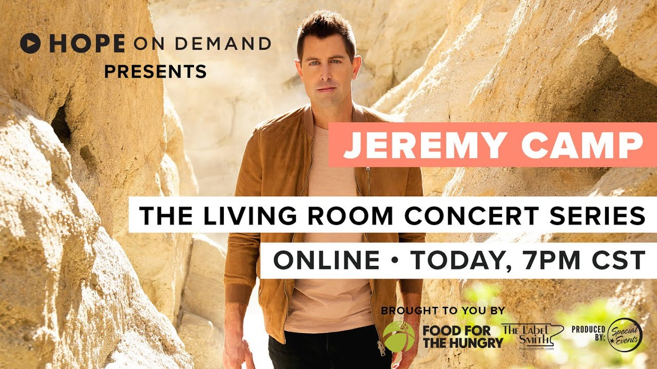 Jeremy Camp | Living Room Concert Series