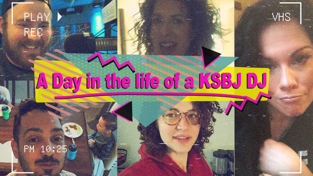 A Day in the Life of a KSBJ DJ