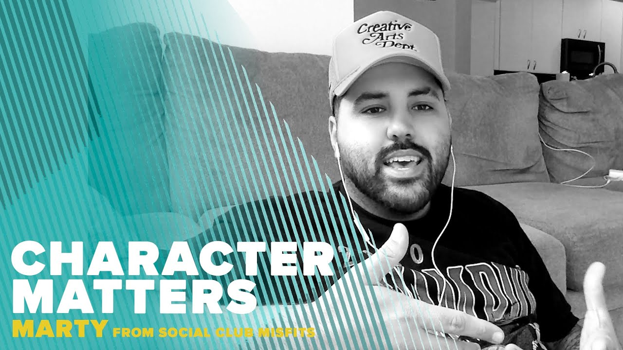 Character Matters with Marty from Social Club Misfits
