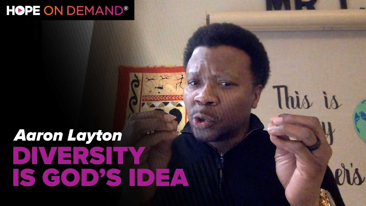 "Diversity Is God's Idea – Aaron Layton, Author of ""Dear White Christian"""