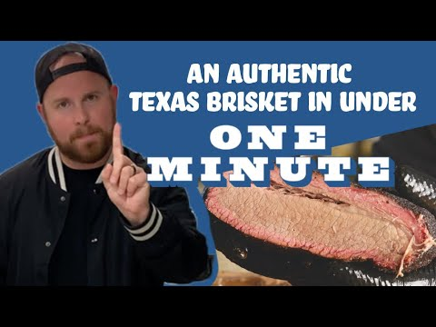 How to make an authentic Texas brisket