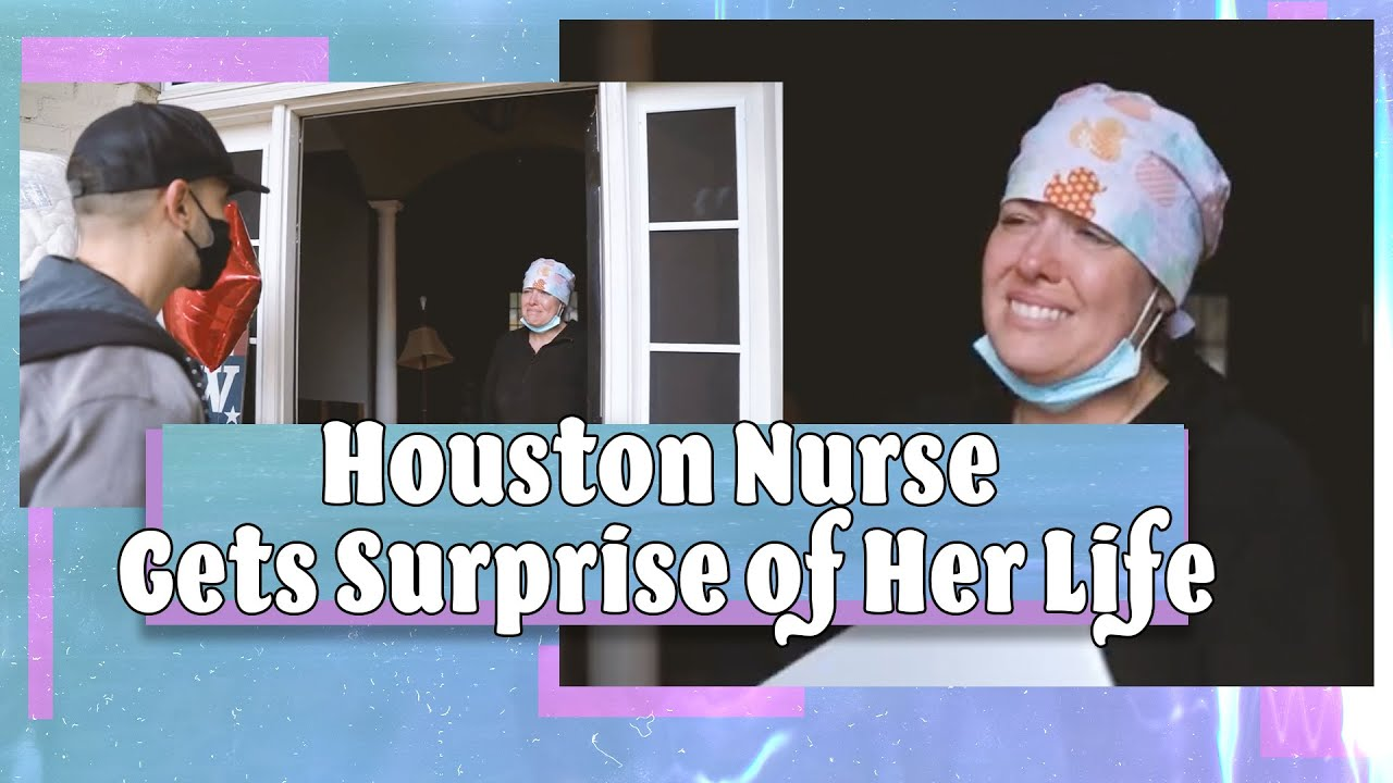 Local Houston Nurse Gets Surprise of Her Life
