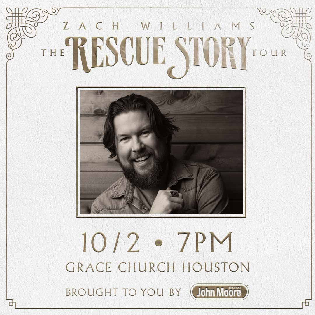 KSBJ Presents – Zach Williams Rescue Story with We The Kingdom and Cain