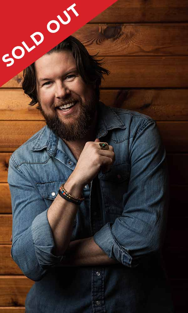 Zach Williams Sold Out