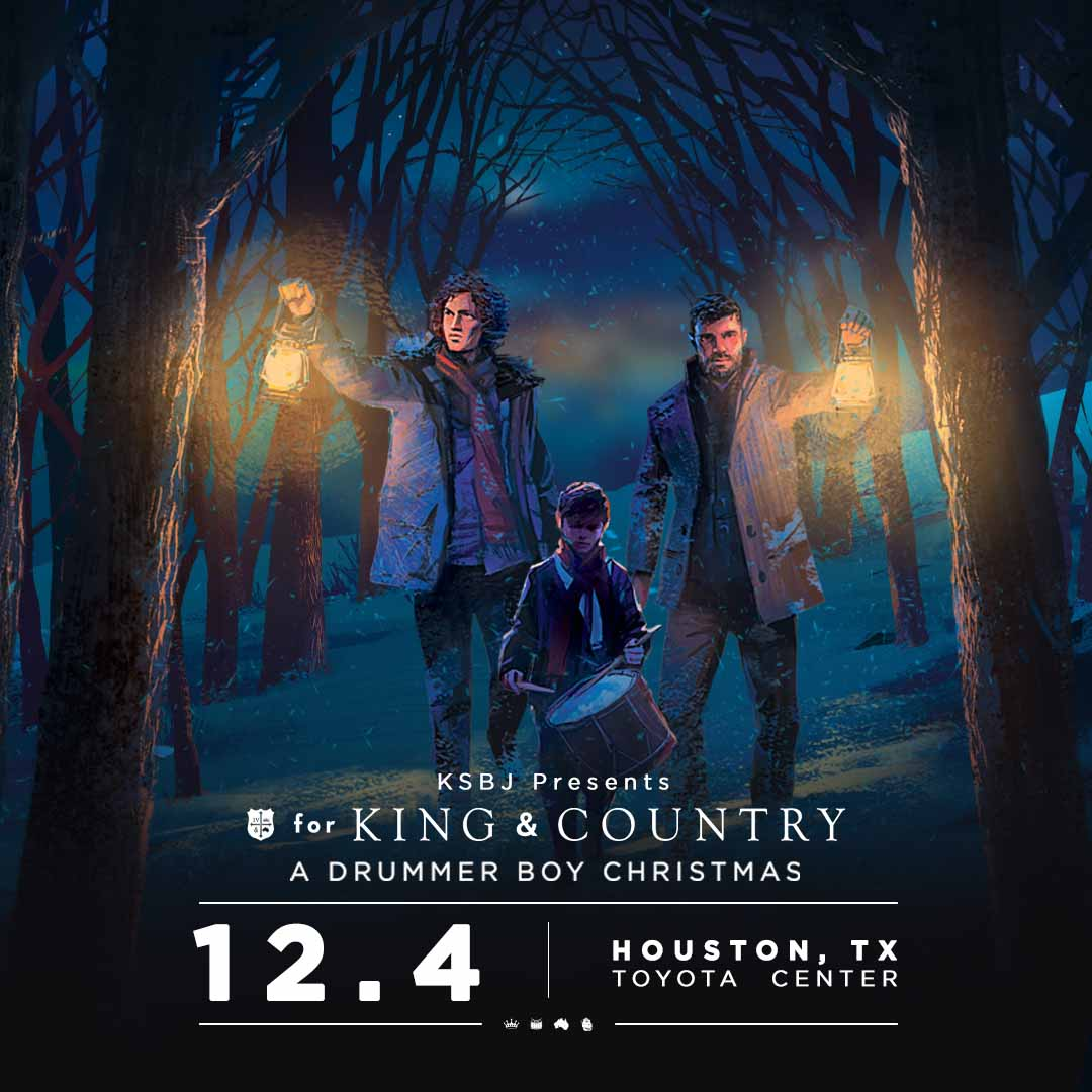 KSBJ presents for KING & COUNTRY, A Drummer Boy Christmas