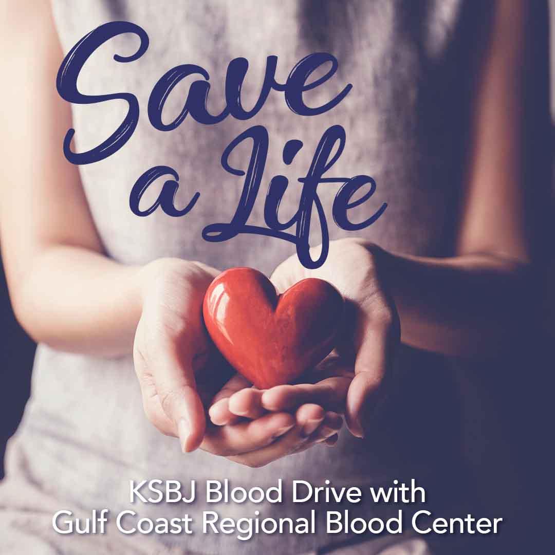 KSBJ Blood Drive with Gulf Coast Regional Blood Center