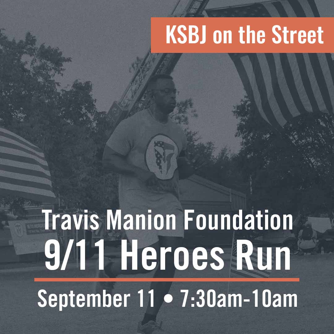 KSBJ on the Street - Travis Manion Foundation Houston 9/11 Heroes Run